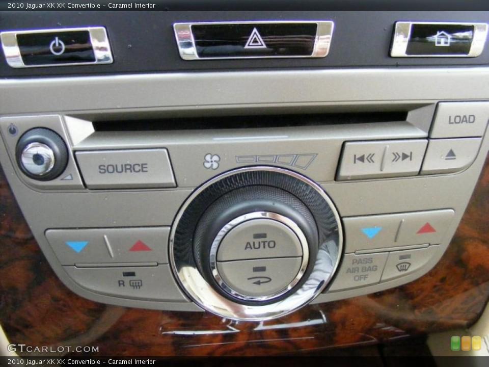 Caramel Interior Controls for the 2010 Jaguar XK XK Convertible #37916222