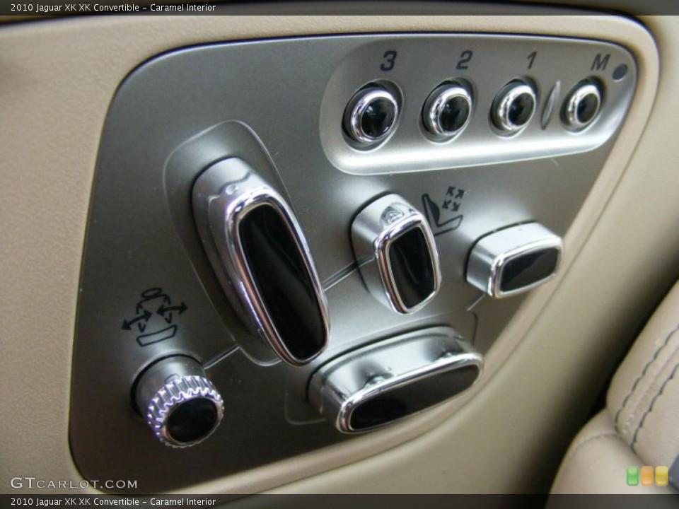 Caramel Interior Controls for the 2010 Jaguar XK XK Convertible #37916351