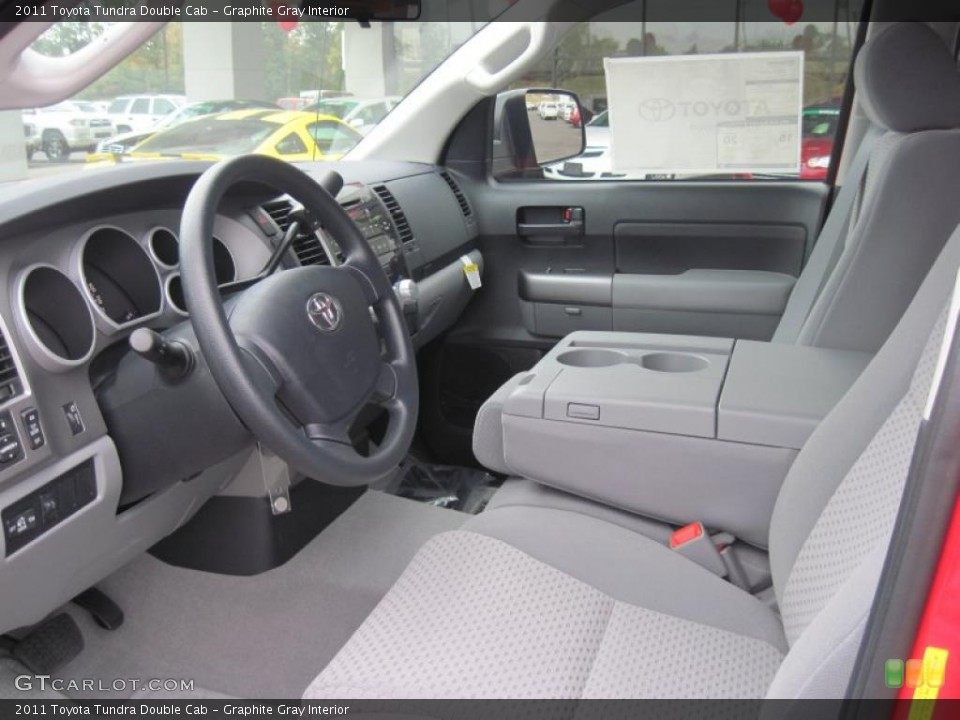 Graphite Gray Interior Photo for the 2011 Toyota Tundra Double Cab #37923466