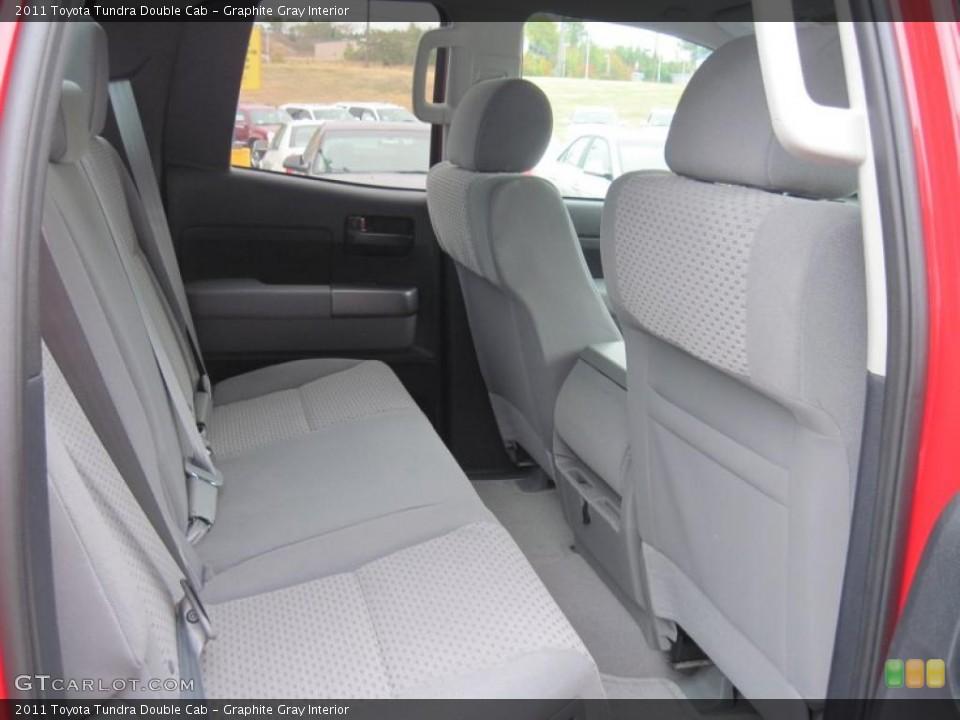 Graphite Gray Interior Photo for the 2011 Toyota Tundra Double Cab #37923498