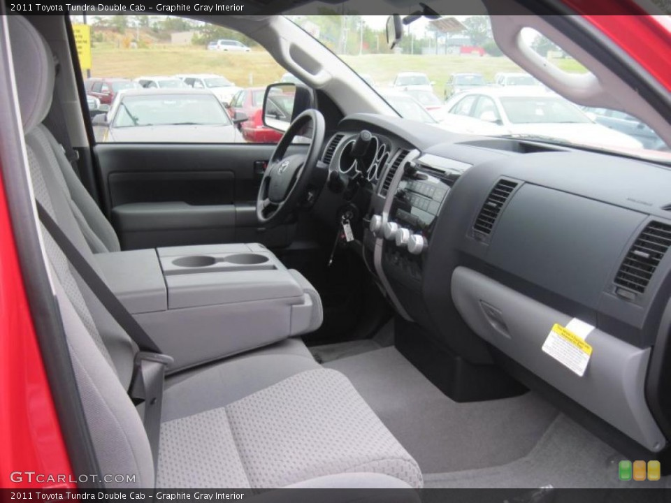 Graphite Gray Interior Photo for the 2011 Toyota Tundra Double Cab #37923518