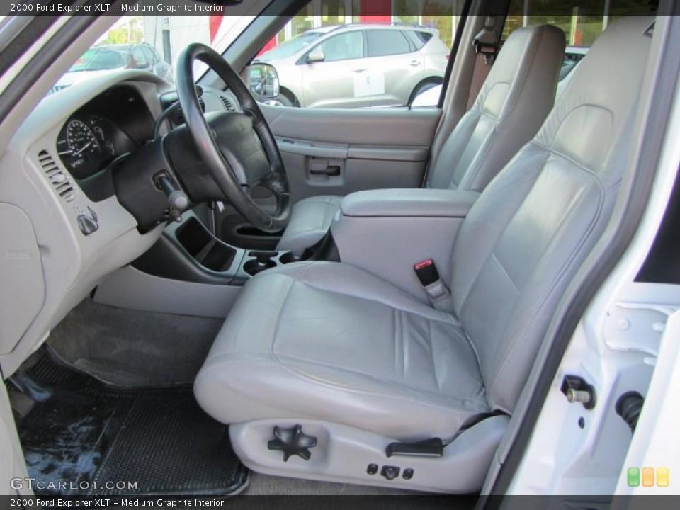 Medium Graphite Interior Photo for the 2000 Ford Explorer XLT #37948624