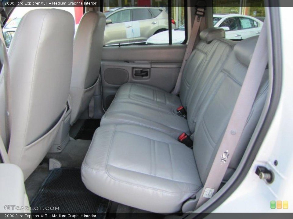 Medium Graphite Interior Photo for the 2000 Ford Explorer XLT #37948652