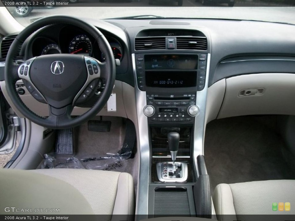 taupe interior dashboard for the 2008 acura tl 3 2. Black Bedroom Furniture Sets. Home Design Ideas