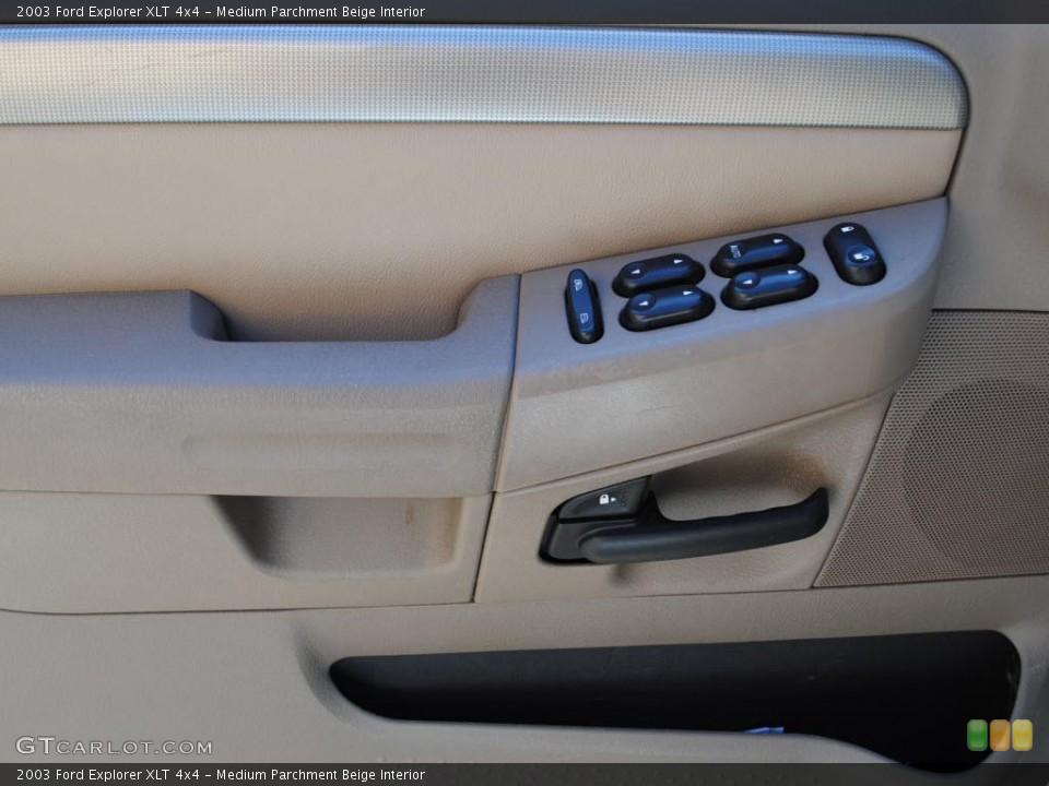 Medium Parchment Beige Interior Photo for the 2003 Ford Explorer XLT 4x4 #38038538