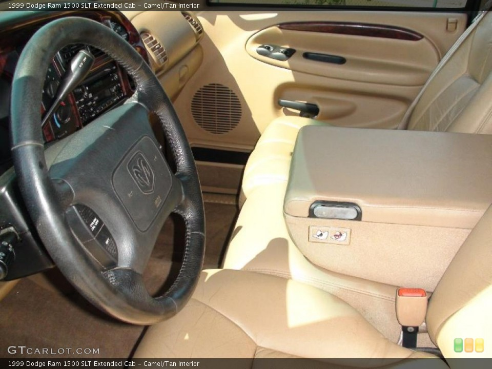Camel/Tan Interior Photo for the 1999 Dodge Ram 1500 SLT Extended Cab #38041234