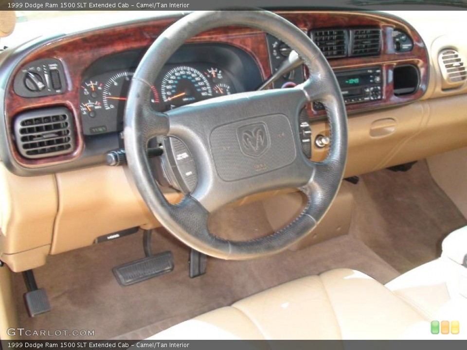 Camel/Tan Interior Photo for the 1999 Dodge Ram 1500 SLT Extended Cab #38041250