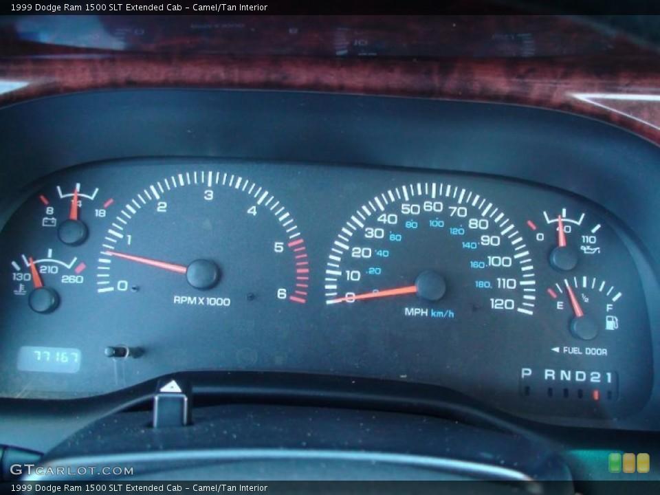 Camel/Tan Interior Gauges for the 1999 Dodge Ram 1500 SLT Extended Cab #38041354