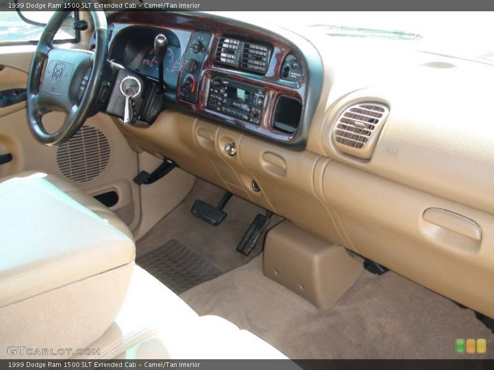 Camel/Tan Interior Dashboard for the 1999 Dodge Ram 1500 SLT Extended Cab #38041474