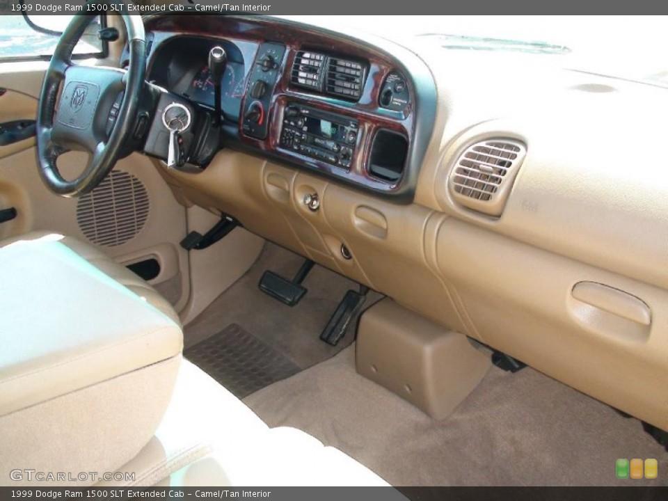 Camel/Tan Interior Dashboard for the 1999 Dodge Ram 1500 SLT Extended Cab #38041474