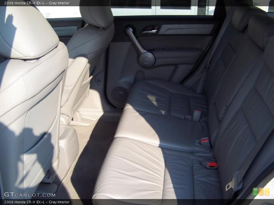 Gray Interior Photo for the 2009 Honda CR-V EX-L #38051029