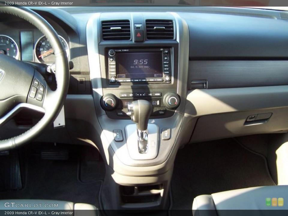 Gray Interior Dashboard for the 2009 Honda CR-V EX-L #38051041