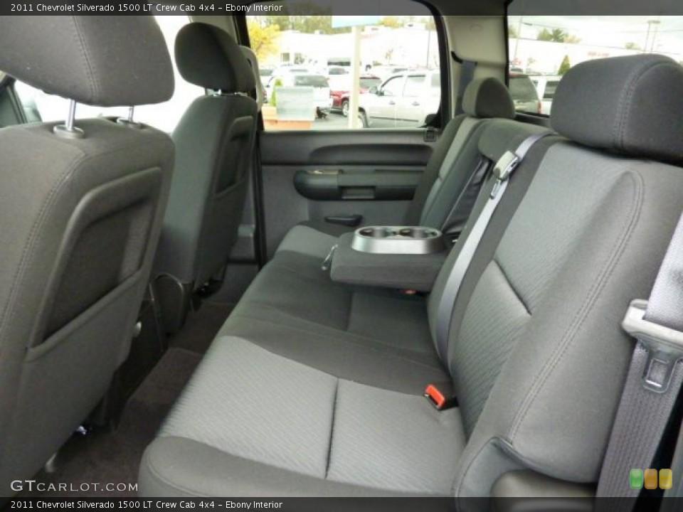 Ebony Interior Photo for the 2011 Chevrolet Silverado 1500 LT Crew Cab 4x4 #38102163