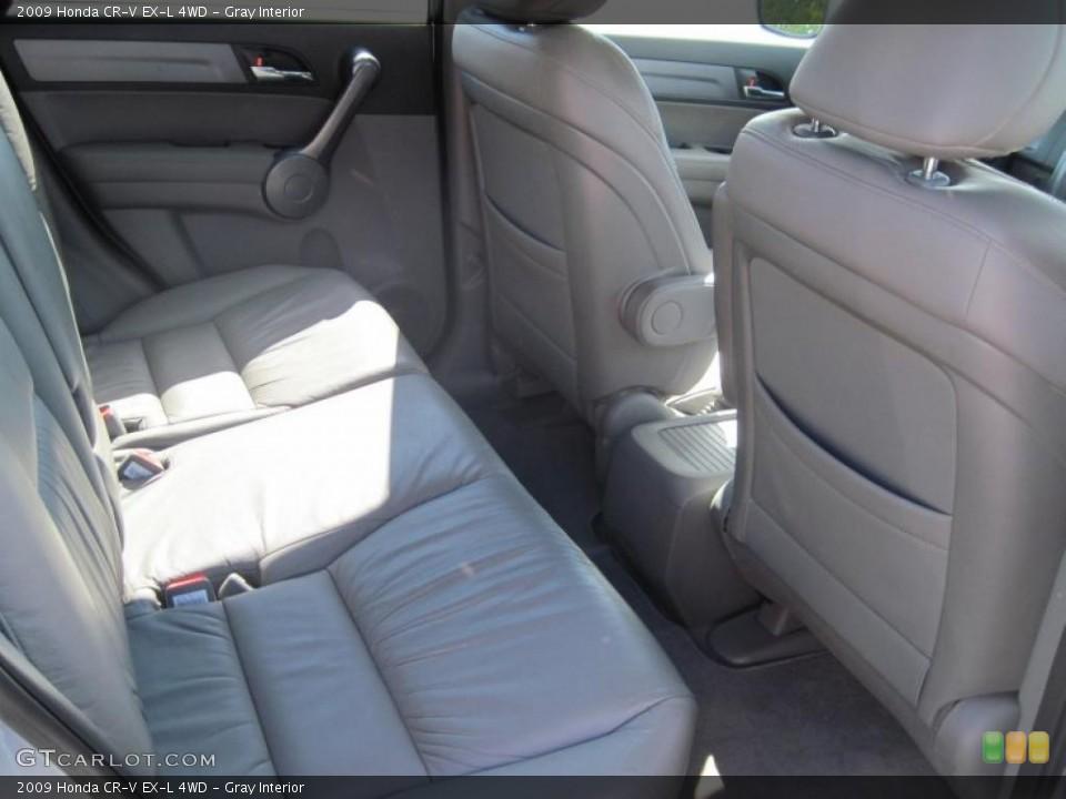Gray Interior Photo for the 2009 Honda CR-V EX-L 4WD #38168490