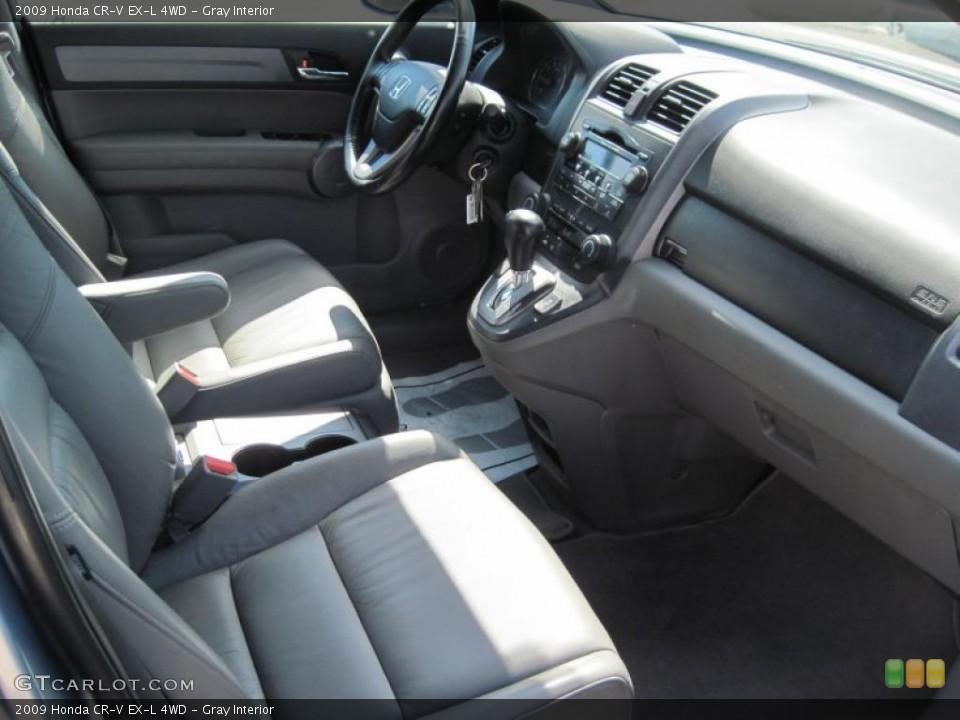 Gray Interior Photo for the 2009 Honda CR-V EX-L 4WD #38168494