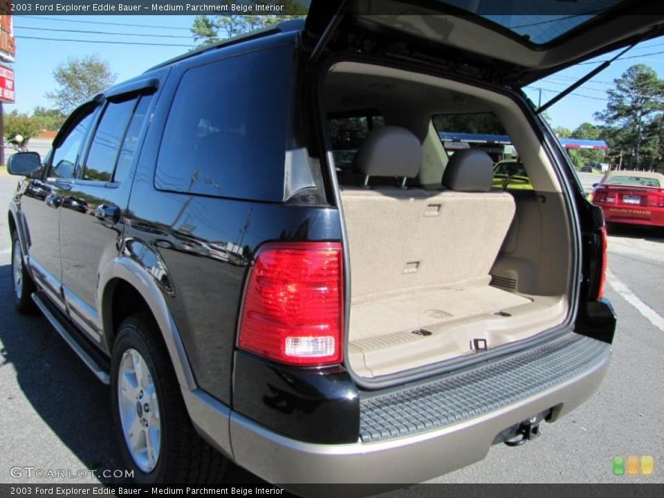 Medium Parchment Beige Interior Trunk for the 2003 Ford Explorer Eddie Bauer #38207408
