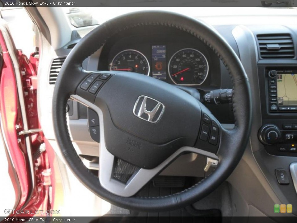 Gray Interior Steering Wheel for the 2010 Honda CR-V EX-L #38275892