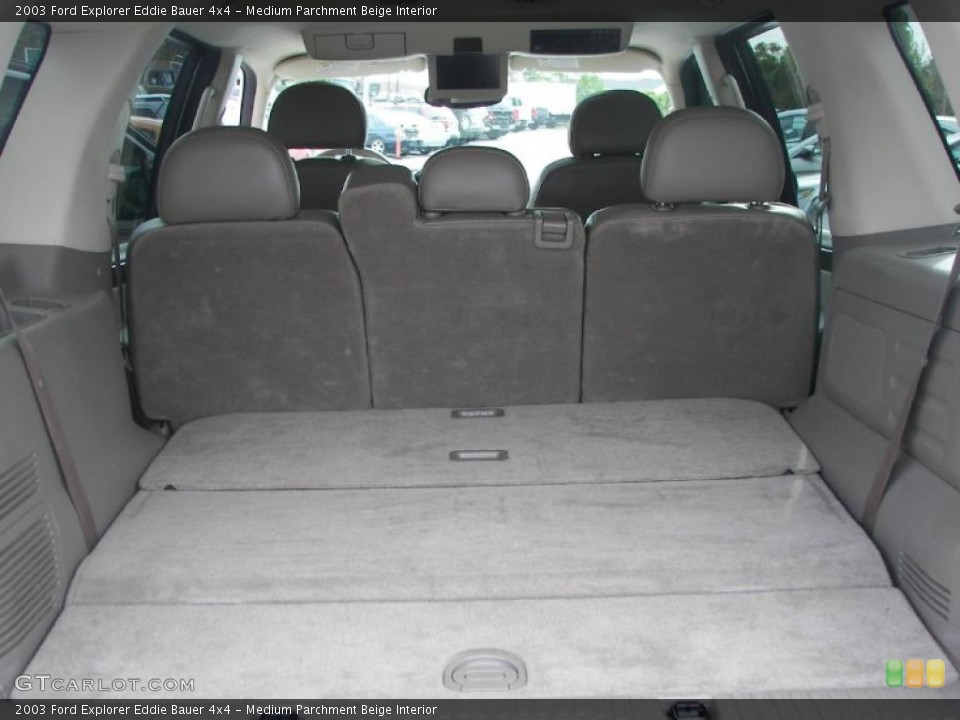 Medium Parchment Beige Interior Trunk for the 2003 Ford Explorer Eddie Bauer 4x4 #38336495