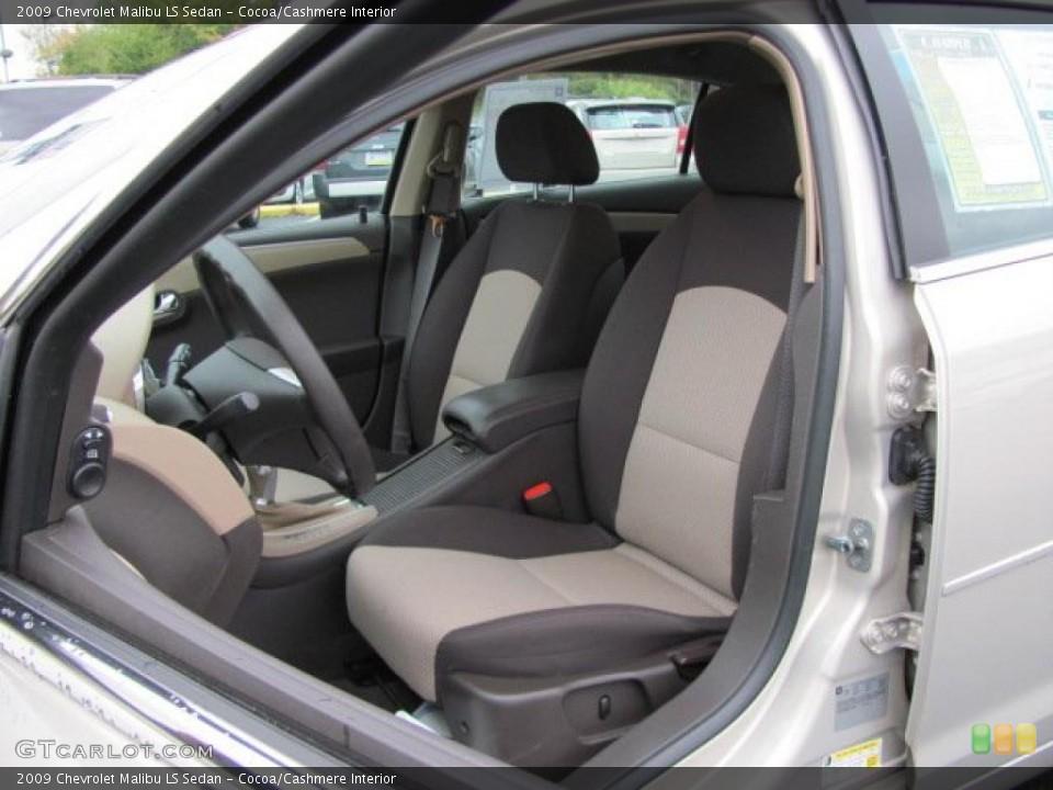 2009 Chevrolet Malibu Interior 2009 Chevrolet Malibu ls