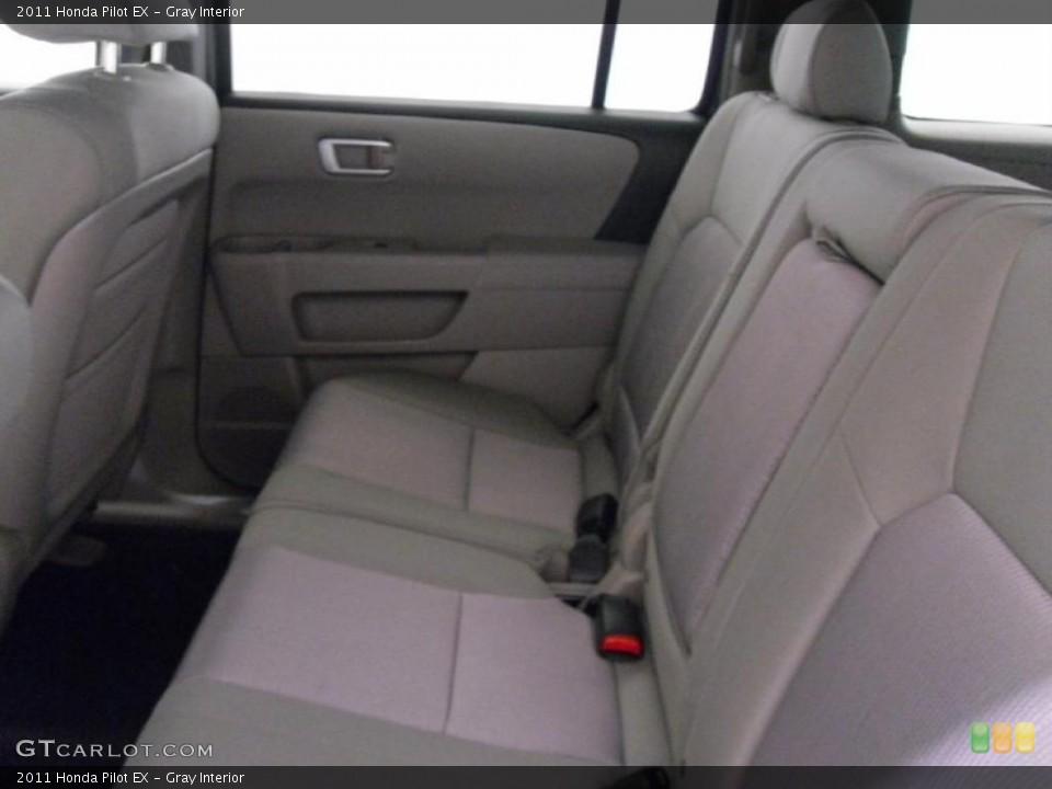 Gray Interior Photo for the 2011 Honda Pilot EX #38348602