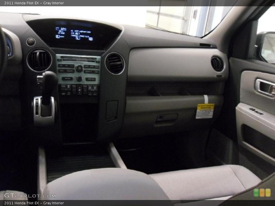 Gray Interior Dashboard for the 2011 Honda Pilot EX #38348650