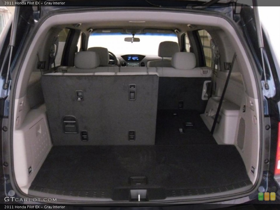 Gray Interior Trunk for the 2011 Honda Pilot EX #38348682