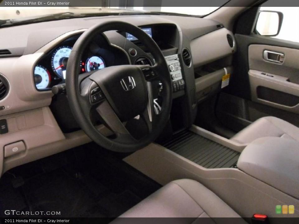 Gray Interior Dashboard for the 2011 Honda Pilot EX #38348834