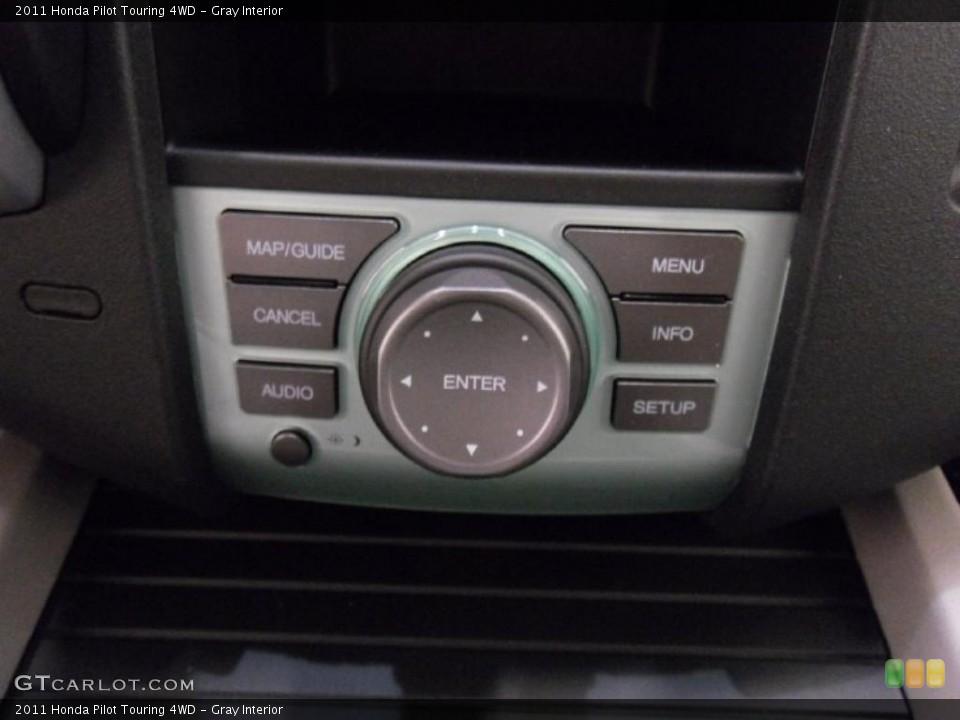 Gray Interior Controls for the 2011 Honda Pilot Touring 4WD #38352190