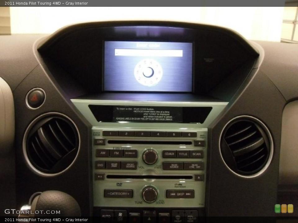 Gray Interior Controls for the 2011 Honda Pilot Touring 4WD #38352202