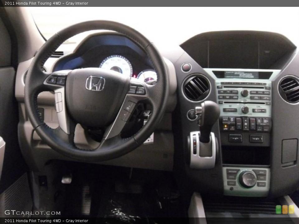 Gray Interior Dashboard for the 2011 Honda Pilot Touring 4WD #38352290