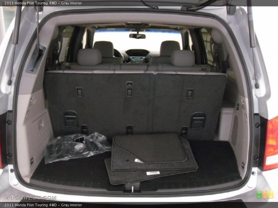 Gray Interior Trunk for the 2011 Honda Pilot Touring 4WD #38352338
