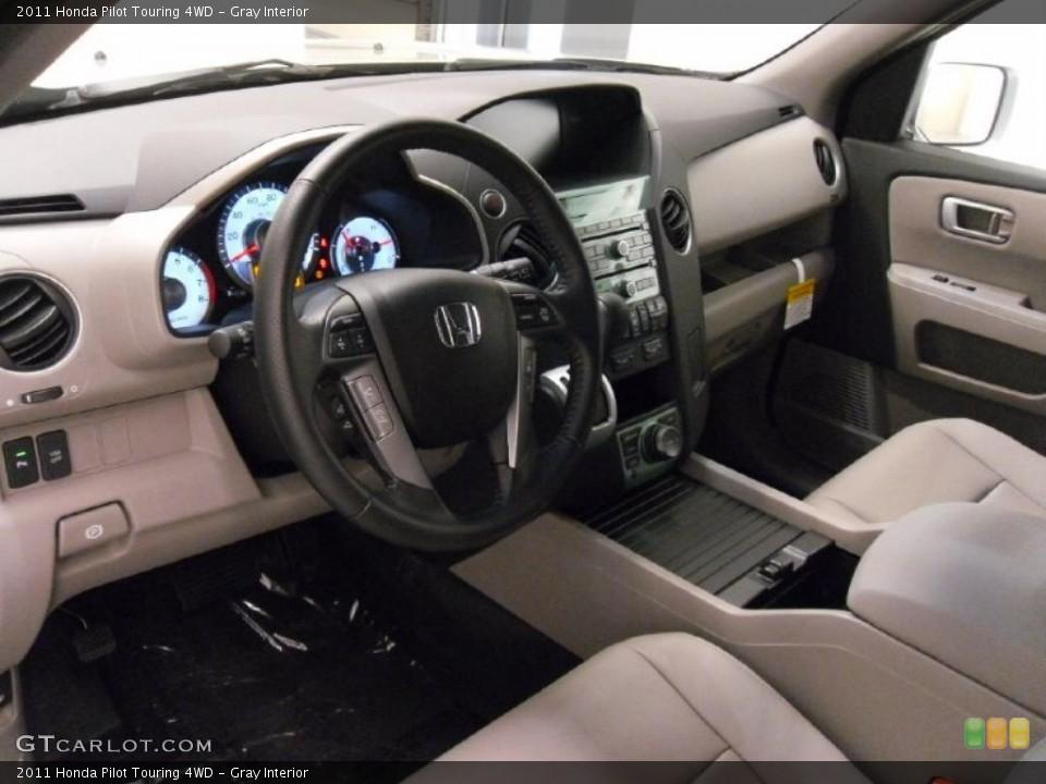Gray Interior Dashboard for the 2011 Honda Pilot Touring 4WD #38352454