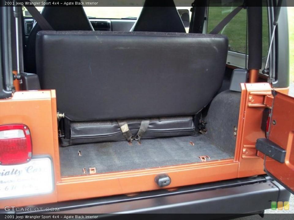 Amazing Agate Black Interior Trunk For The 2001 Jeep Wrangler Sport Machost Co Dining Chair Design Ideas Machostcouk