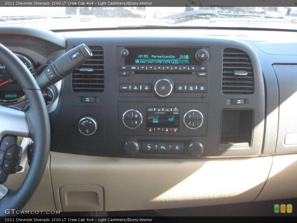 Light Cashmere/Ebony Interior Controls for the 2011 Chevrolet Silverado 1500 LT Crew Cab 4x4 #38443104