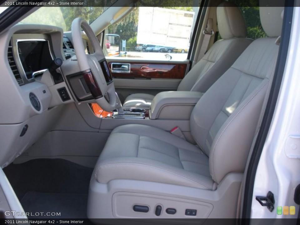 Stone 2011 Lincoln Navigator Interiors