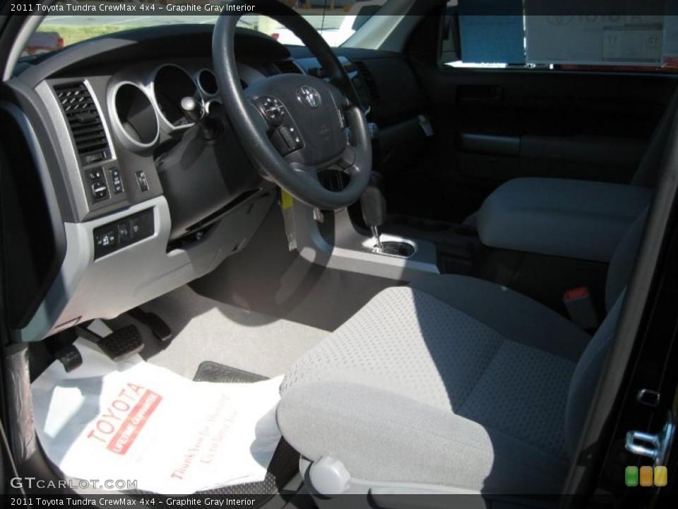 Graphite Gray Interior Photo for the 2011 Toyota Tundra CrewMax 4x4 #38569037