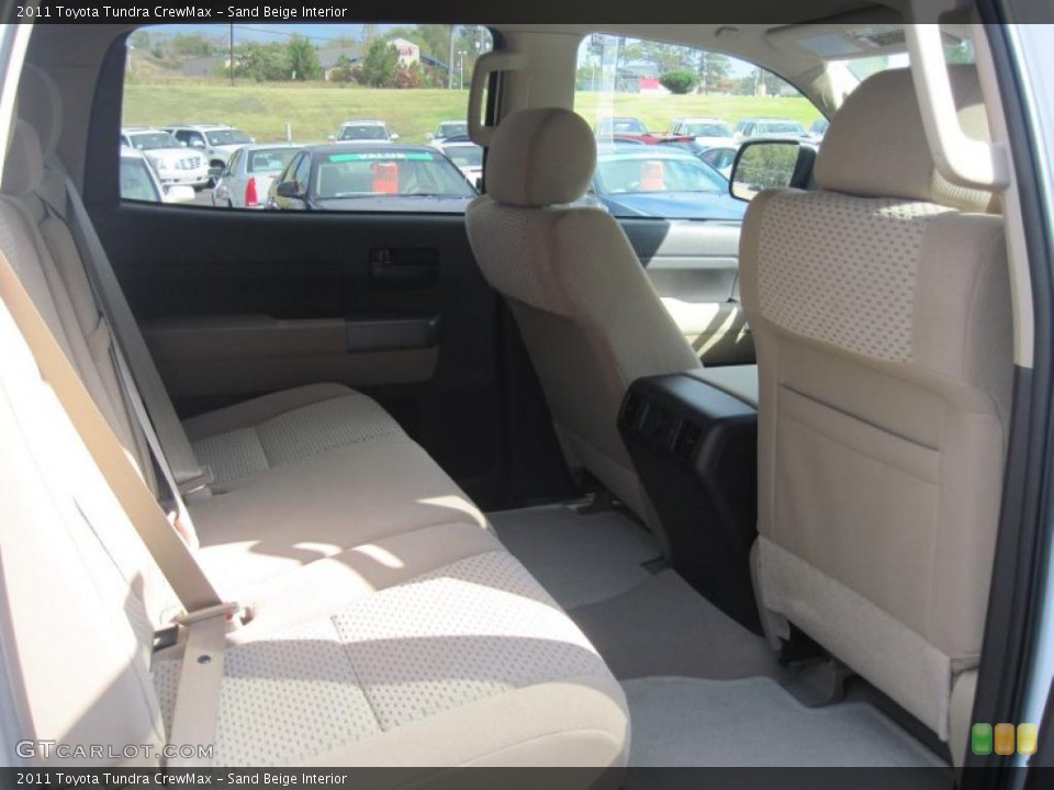 Sand Beige Interior Photo for the 2011 Toyota Tundra CrewMax #38571993