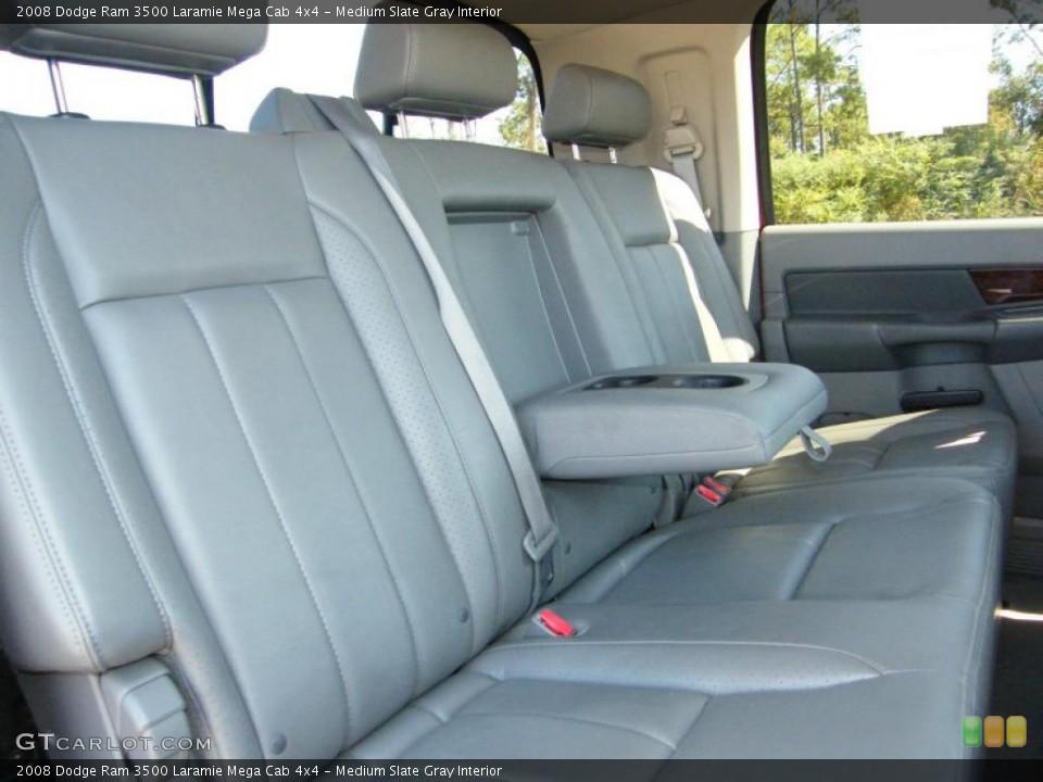 Medium Slate Gray Interior Photo for the 2008 Dodge Ram 3500 Laramie Mega Cab 4x4 #38576124