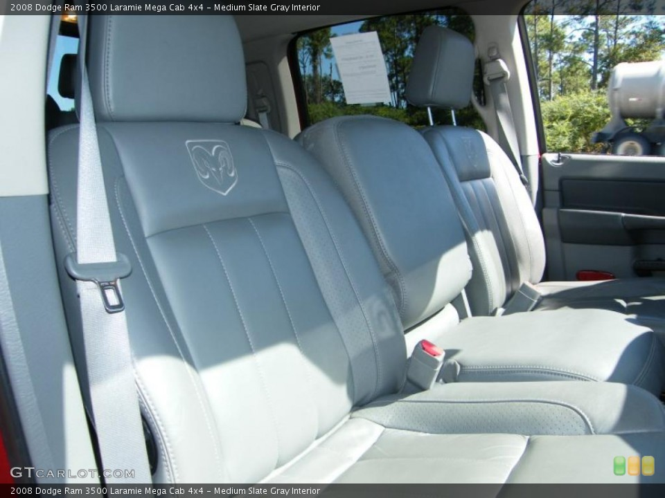 Medium Slate Gray Interior Photo for the 2008 Dodge Ram 3500 Laramie Mega Cab 4x4 #38576144