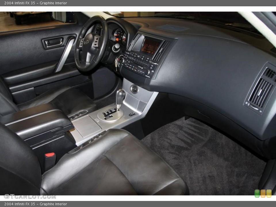 Graphite Interior Photo for the 2004 Infiniti FX 35 #38769670