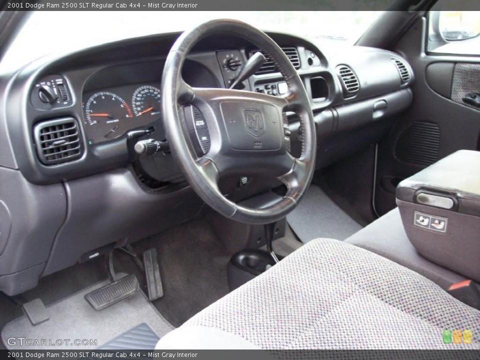 Mist Gray 2001 Dodge Ram 2500 Interiors