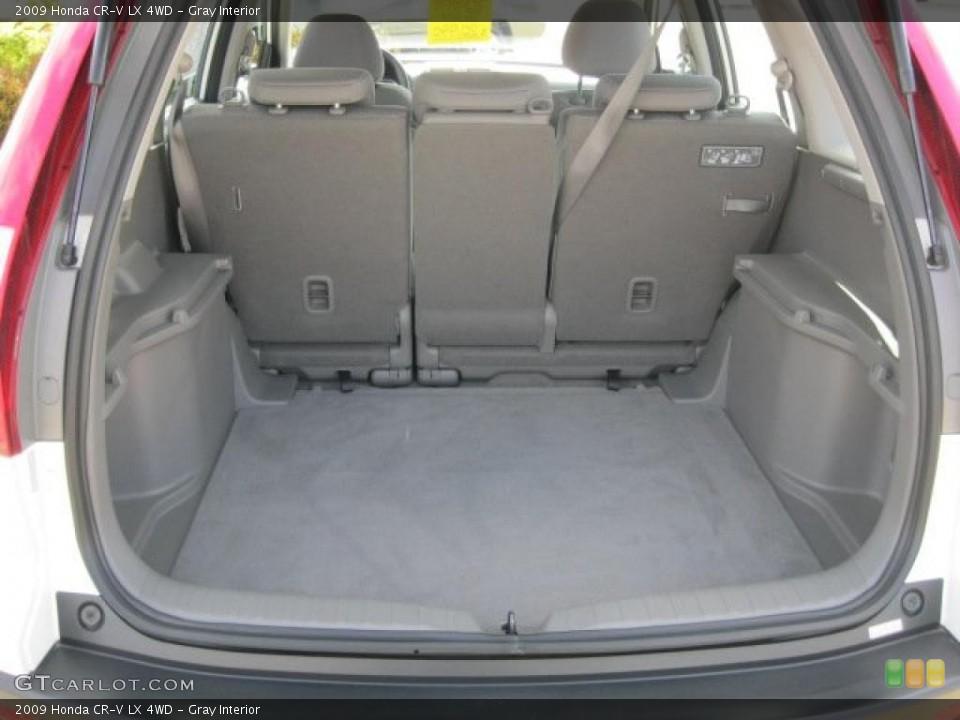 Gray Interior Trunk for the 2009 Honda CR-V LX 4WD #38797259
