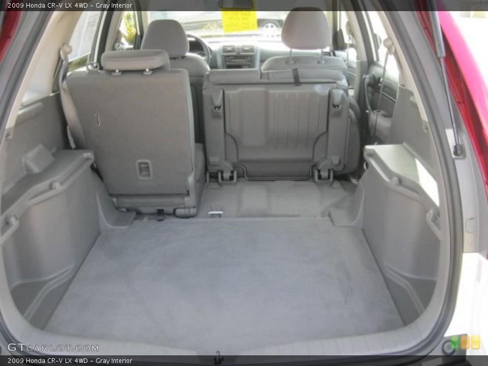 Gray Interior Trunk for the 2009 Honda CR-V LX 4WD #38797291