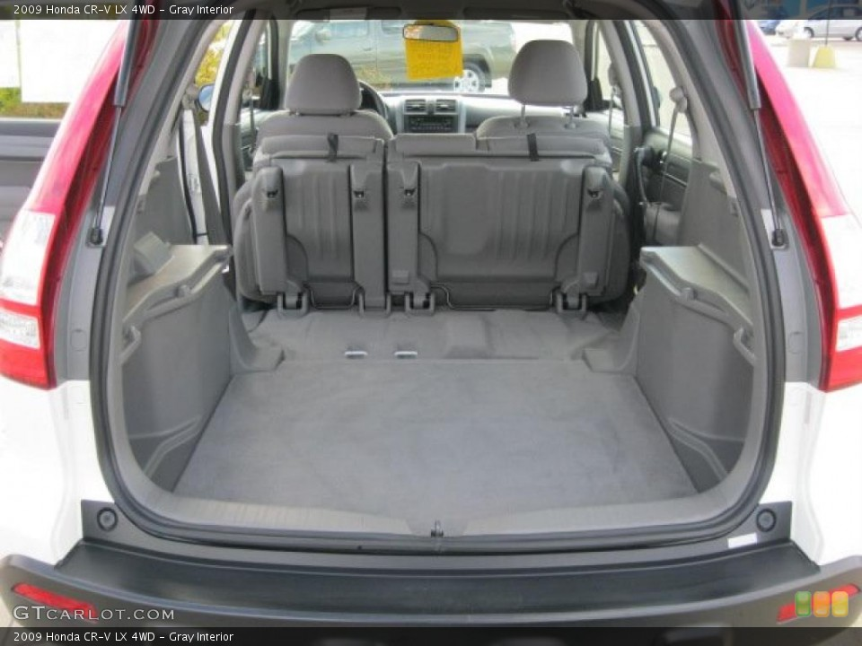 Gray Interior Trunk for the 2009 Honda CR-V LX 4WD #38797303