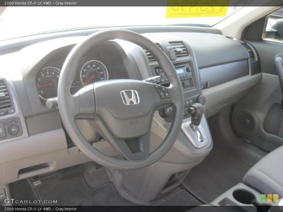 Gray Interior Prime Interior for the 2009 Honda CR-V LX 4WD #38797367