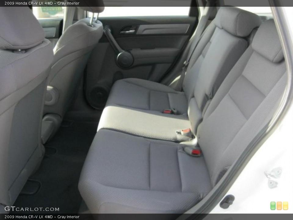 Gray Interior Photo for the 2009 Honda CR-V LX 4WD #38797487