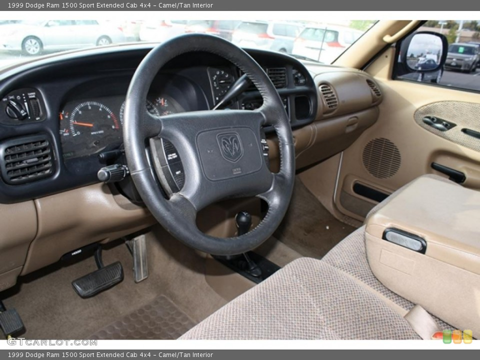 Camel/Tan Interior Dashboard for the 1999 Dodge Ram 1500 Sport Extended Cab 4x4 #38815272