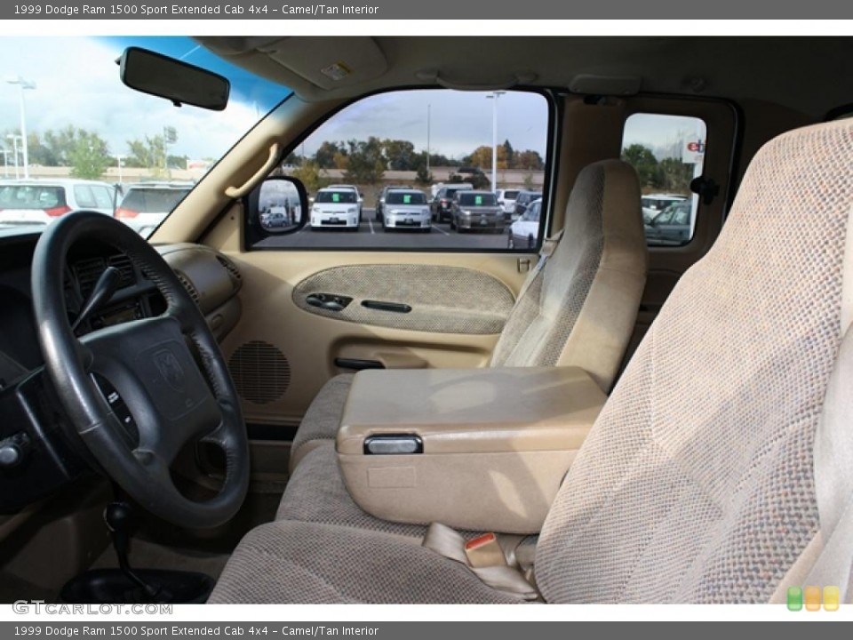 Camel/Tan Interior Photo for the 1999 Dodge Ram 1500 Sport Extended Cab 4x4 #38815292