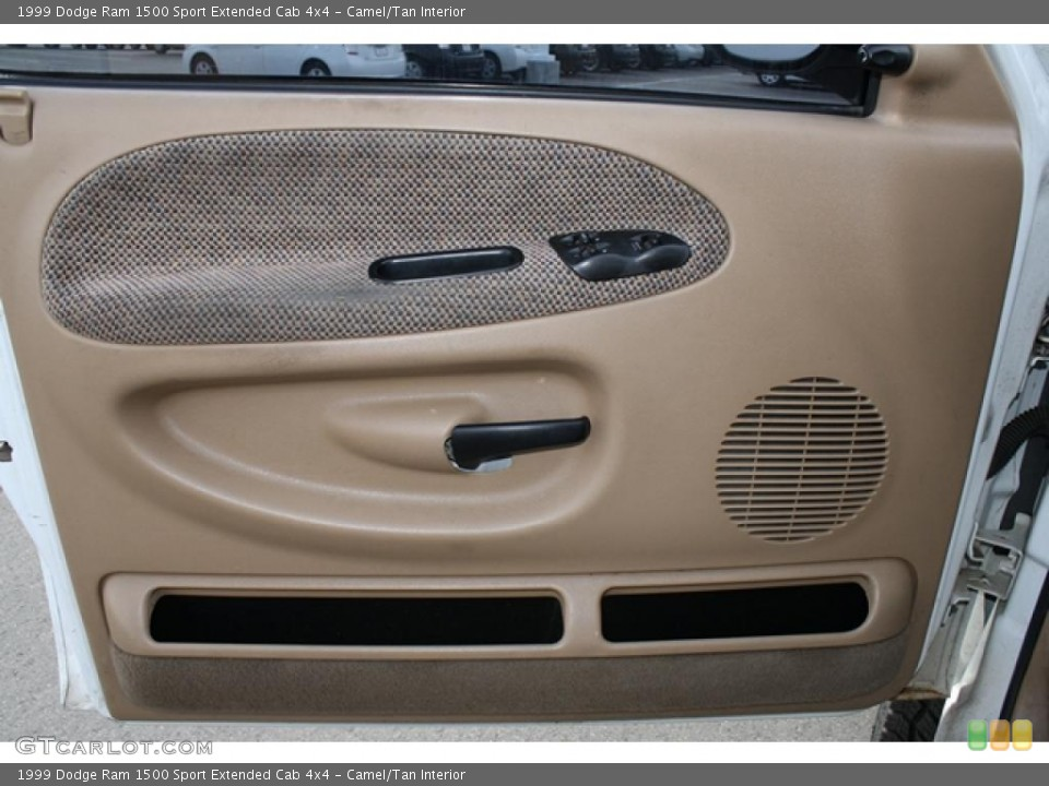 Camel/Tan Interior Door Panel for the 1999 Dodge Ram 1500 Sport Extended Cab 4x4 #38815412