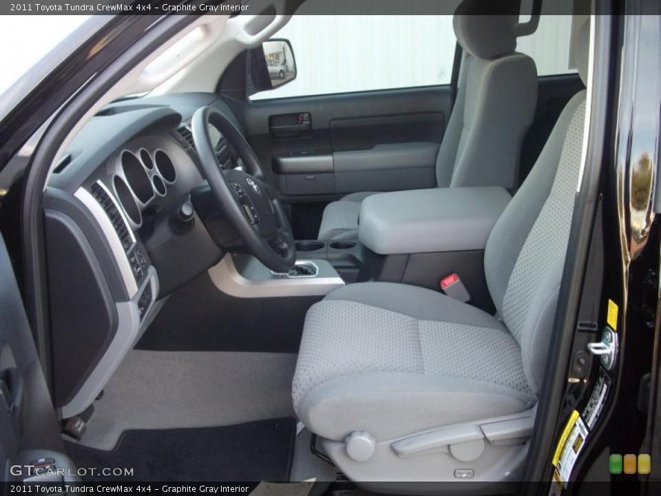 Graphite Gray Interior Photo for the 2011 Toyota Tundra CrewMax 4x4 #38874588